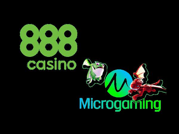 888 Casino och Microgaming i samarbete