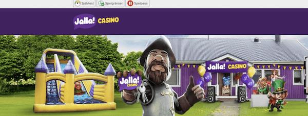 Jalla Casino utan konto