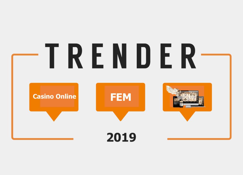 Fem trender på online casinon 2020